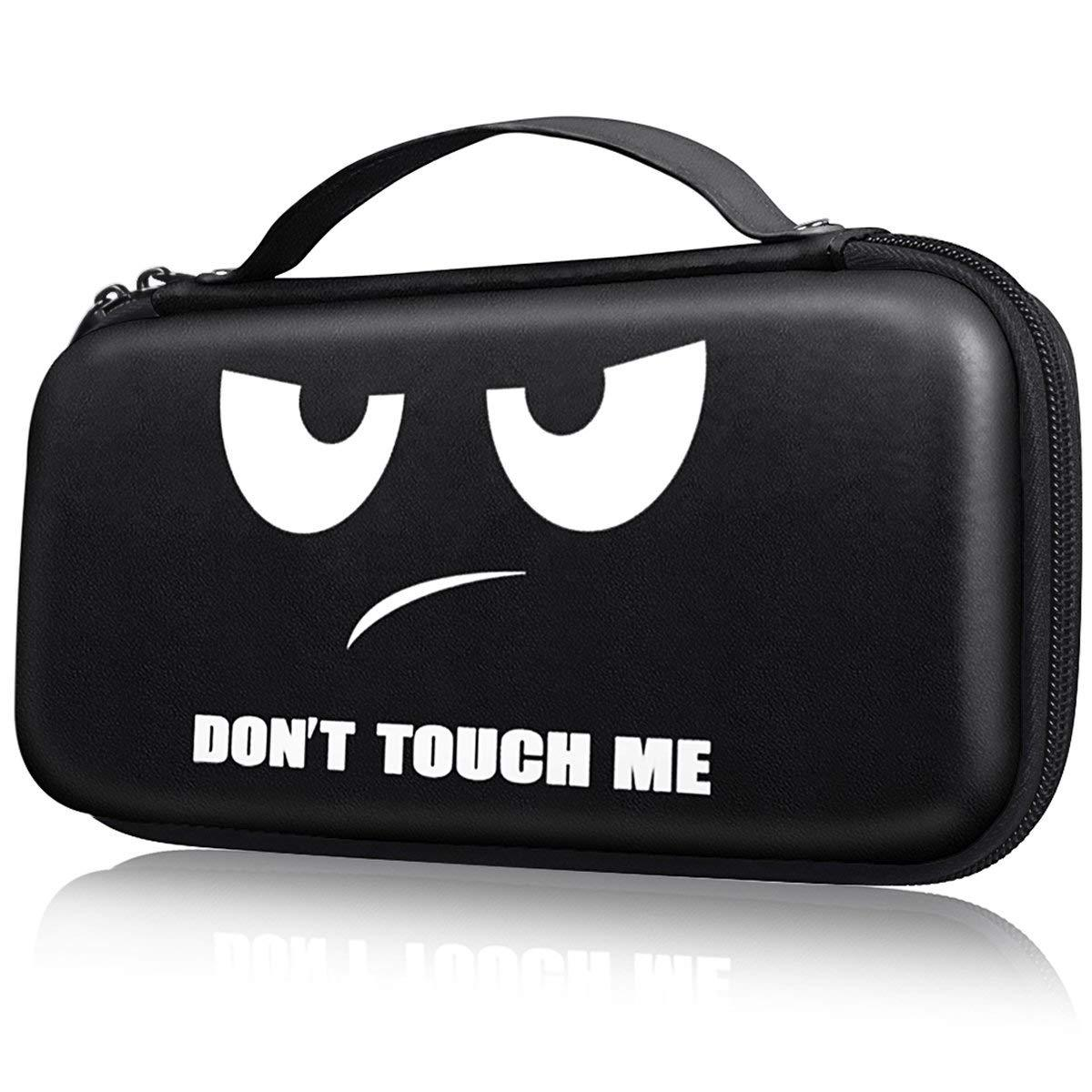 Carry Case Protective Hard Portable Travel Carry Shell Pouch for Nintend Switch Console & Accessories as shown