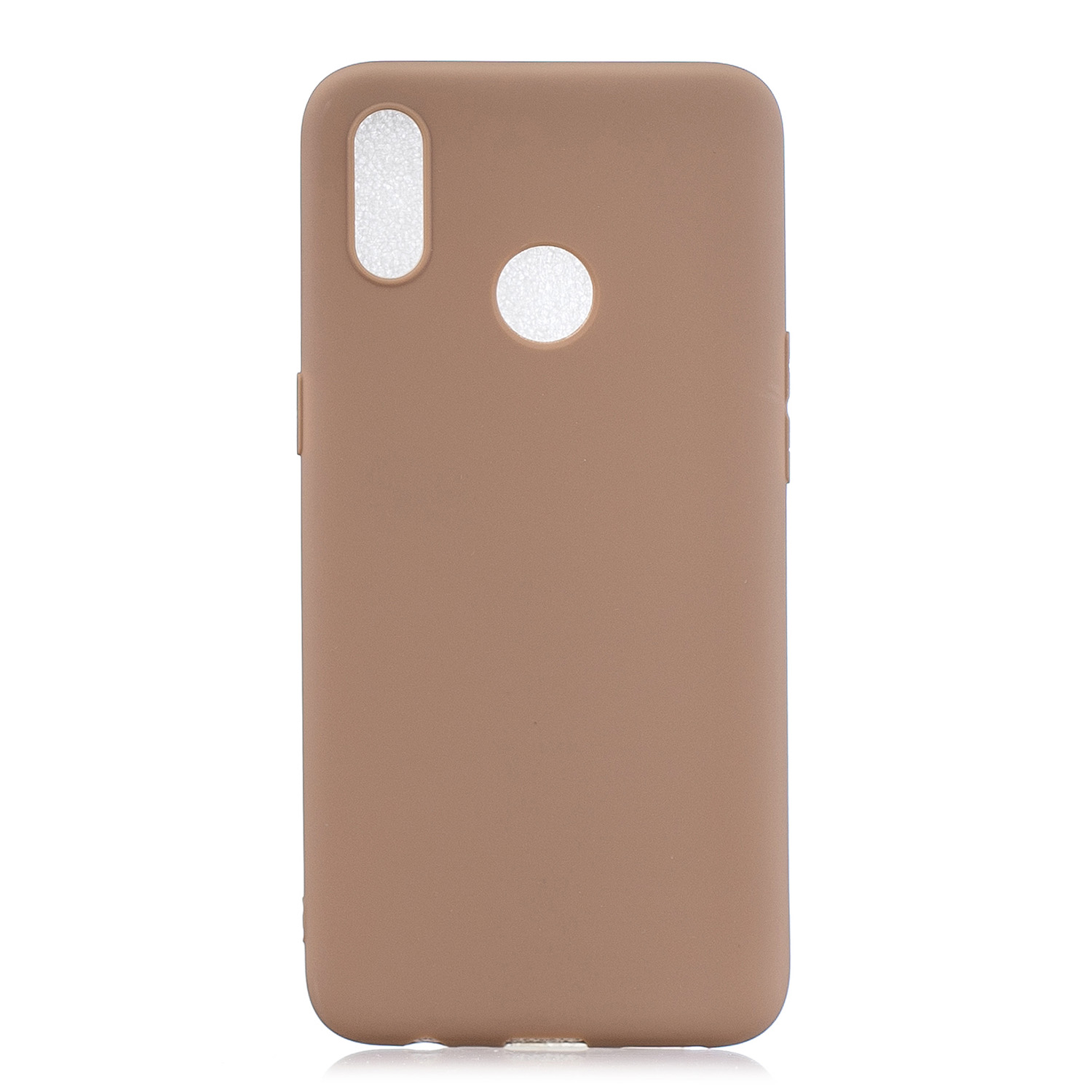 For OPPO Realme 3 pro Lovely Candy Color Matte TPU Anti-scratch Non-slip Protective Cover Back Case 9