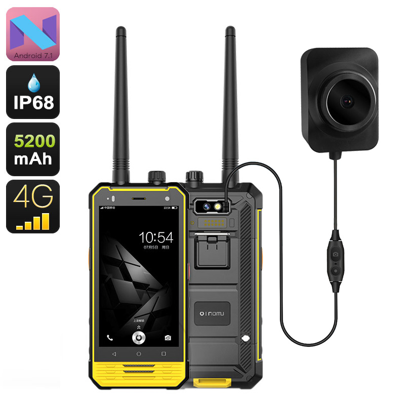 Nomu T18 Rugged Android Phone