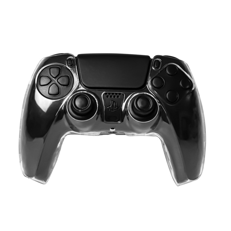 Hard Shell Clear Anti-slip Controller Protective Case Cool Case For Ps5 Slim Gamepad Transparent