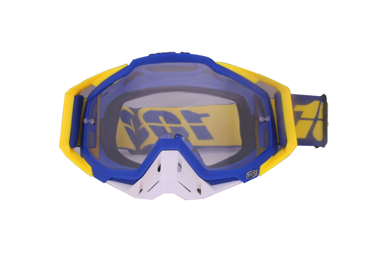 Motocross Goggles Motorcycle Glasses Racing Moto Bike Cycling Gafas Sunglasses  Yellow blue + white