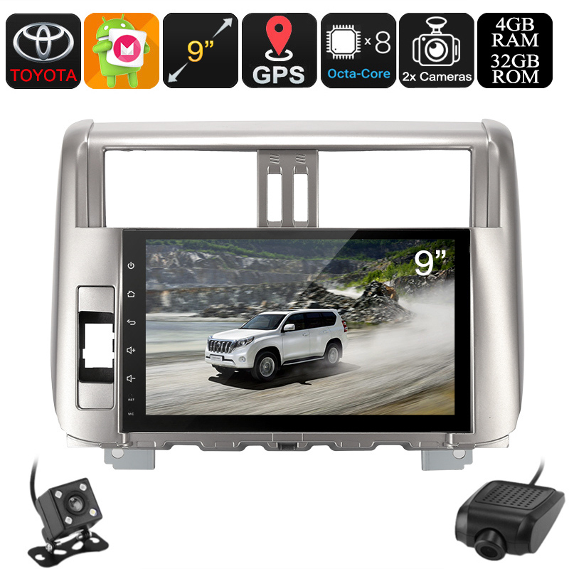 1 DIN Car Stereo Land Cruiser Prado