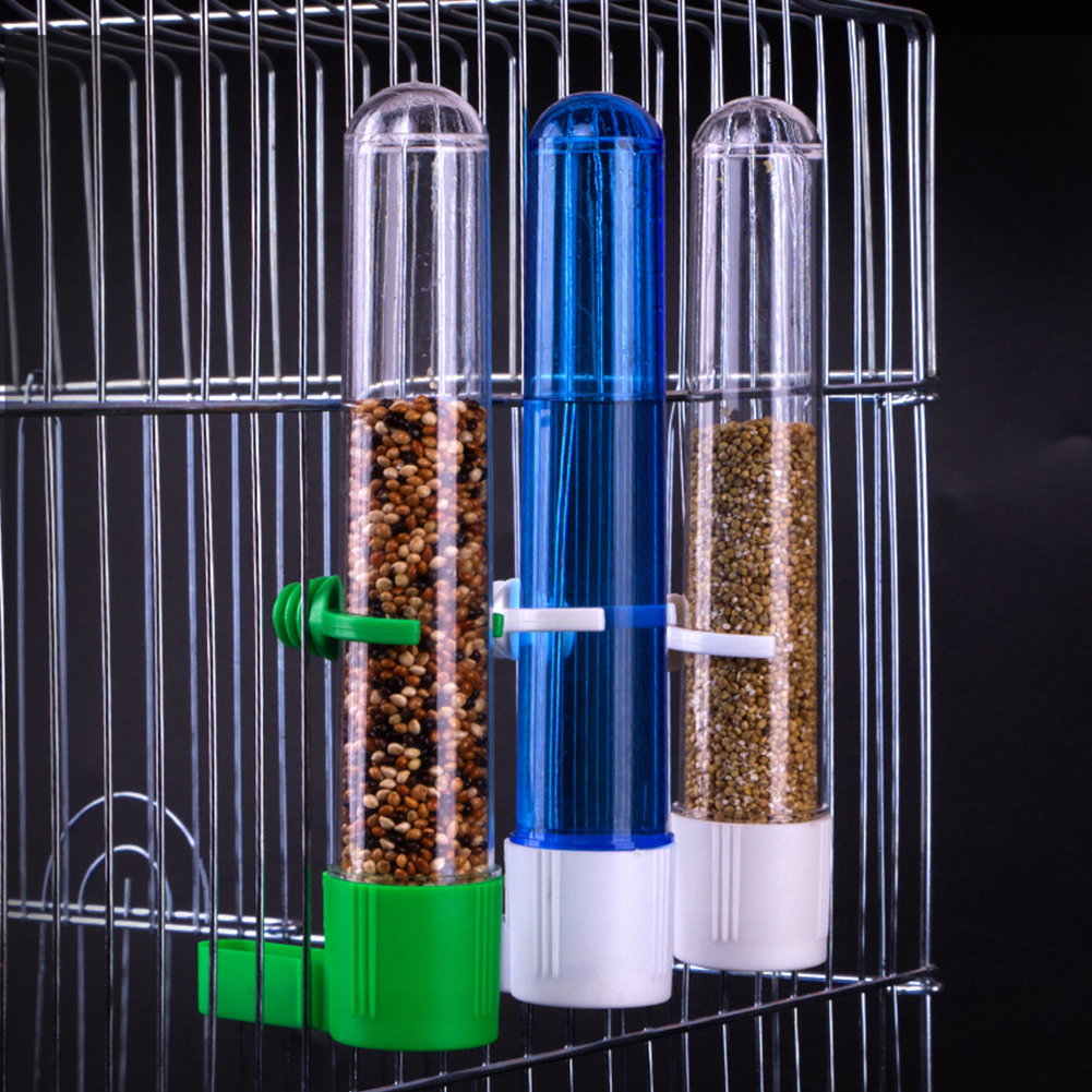 Bird Feeder Water Dispenser Automatic Parrot Food Box for Feeder Cage Accessories