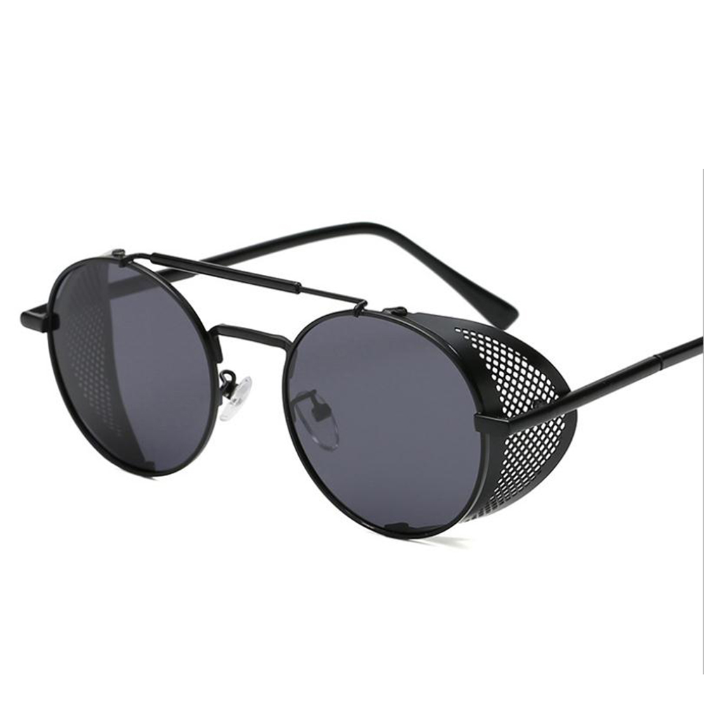 Outdoor Fashion Sunscreen Glasses TAC Lens Polarized/Not Polarized Glasses for Outdoor Sports Black frame black gray piece_Polarized light