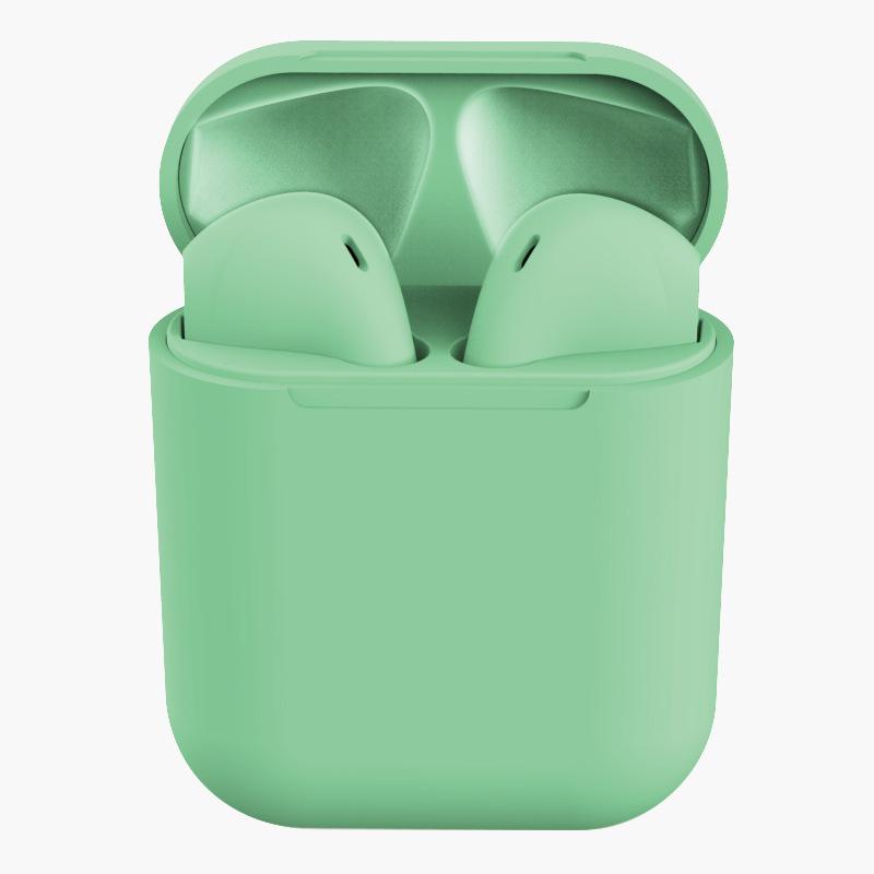 TWS Bluetooth Earphone 5.0 Wireless Headphones Sport Earbuds Headset with Mic for iPhone Xiaomi  green