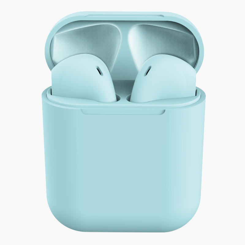 TWS Bluetooth Earphone 5.0 Wireless Headphones Sport Earbuds Headset with Mic for iPhone Xiaomi  blue