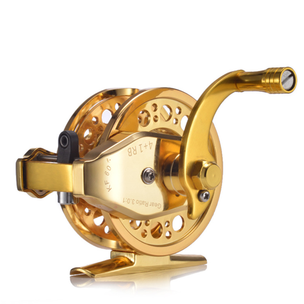 Fishing Tools Double Speed Fishing Reel with Discharge Force Full Metal Front Reel KF60 double speed front wheel right hand
