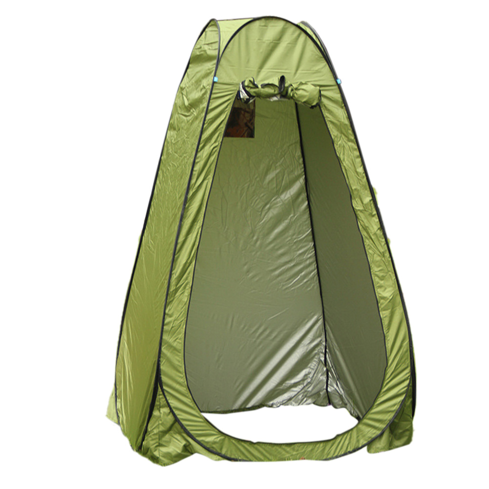 Changing Tent Room Portable Outdoor Instant Quick-opening Privacy Camping Shower Toile Army Green_Double
