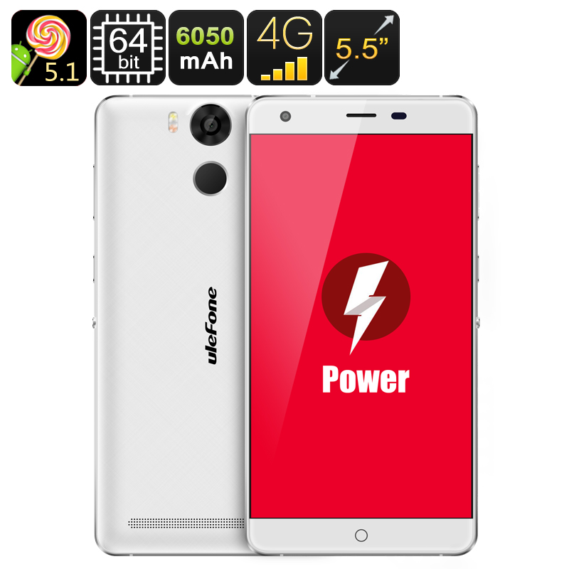 Ulefone Power Smartphone (White)