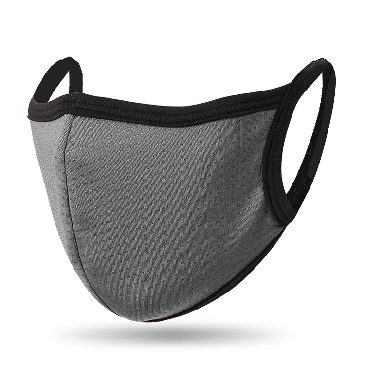 Mouth Masks Quick-drying Breathable Dust-proof Outdoor Masks For Men Women Spring Summer Face Shield Cover Gray _One size