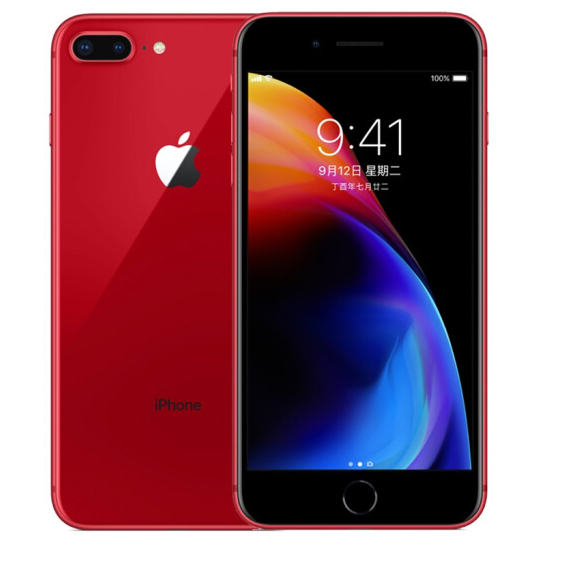Refurbished iPhone 8 Plus 64G phone EU-Red