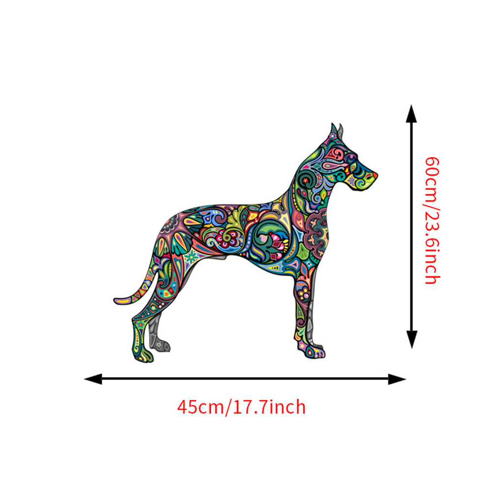 Fashion Animal Wall Sticker Camel/ Dog Decals Waterproof Removable Mural for Home Decoration