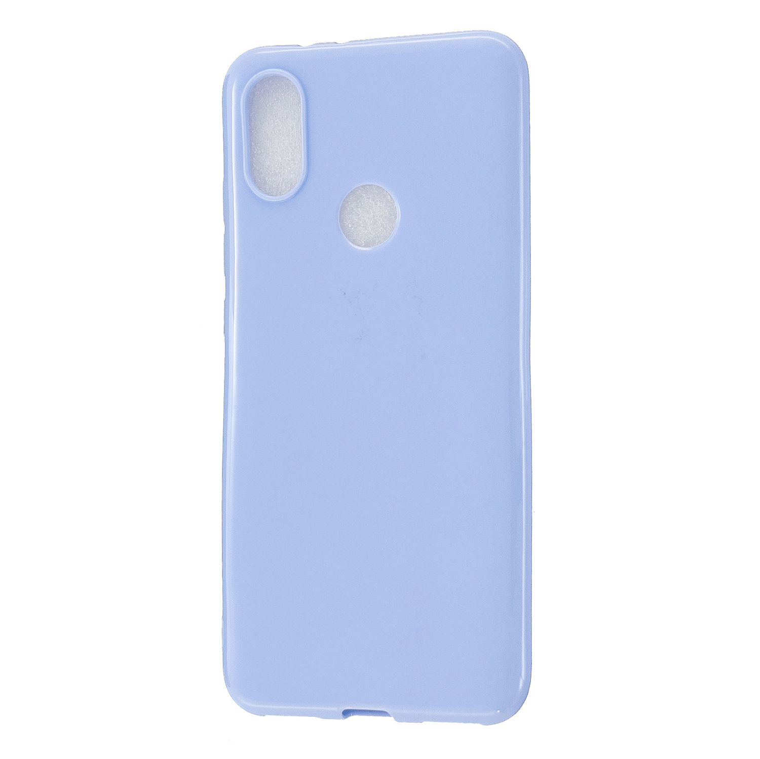 For Redmi GO/Note 5 Pro/Note 6 Pro Cellphone Cover Drop and Shock Proof Soft TPU Phone Case Classic Shell Taro purple