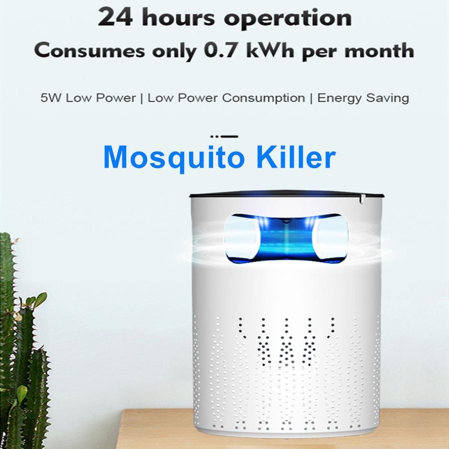 Mosquito Killer Lamp Intelligent Light Wave Bionic Photocatalyst Mosquito Lamp No Radiation Environmental Mosquito Killer Lamps white_British regulatory
