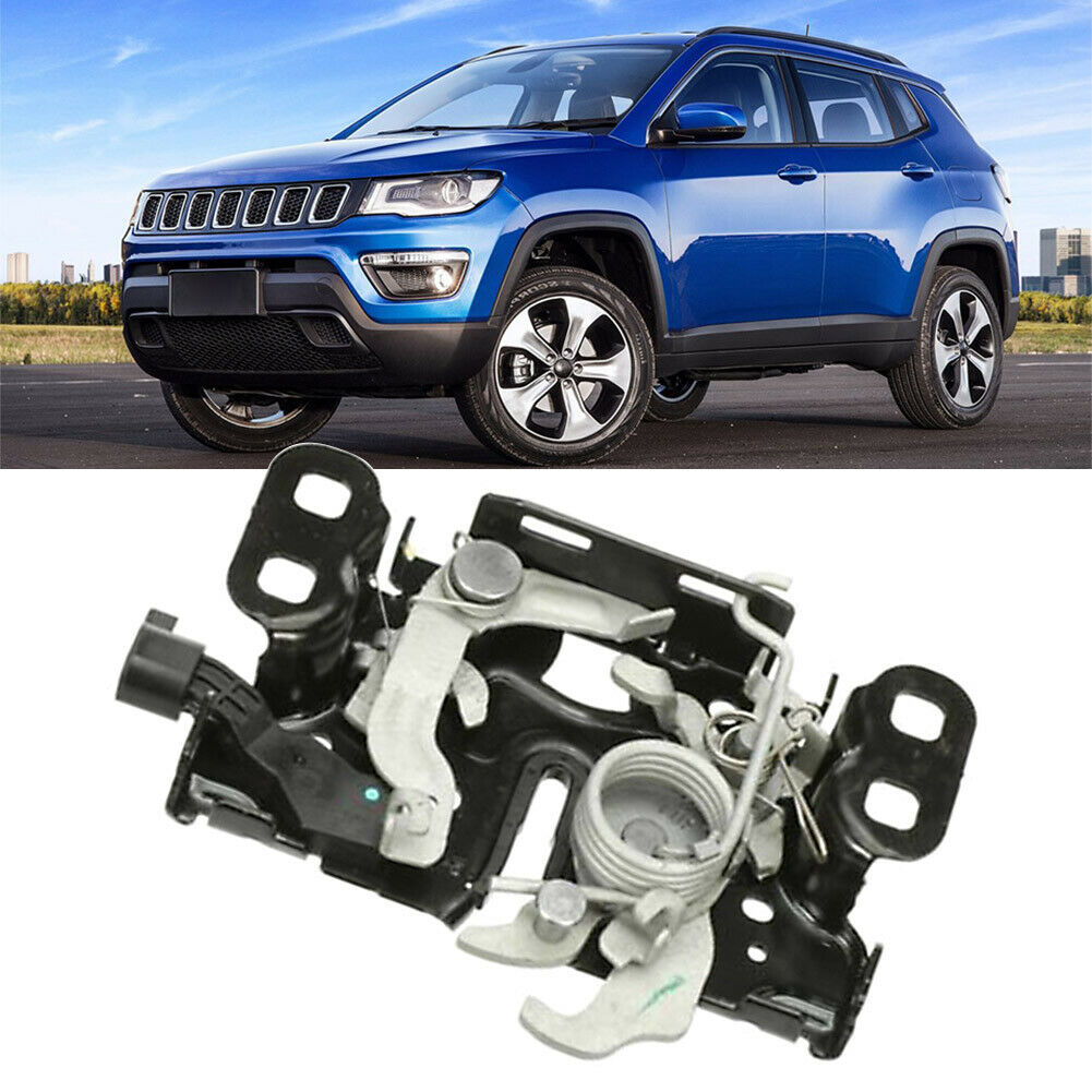 QC Test Hood Latch Lock For Jeep Compass 68280607AC 2017-2020 Bagged