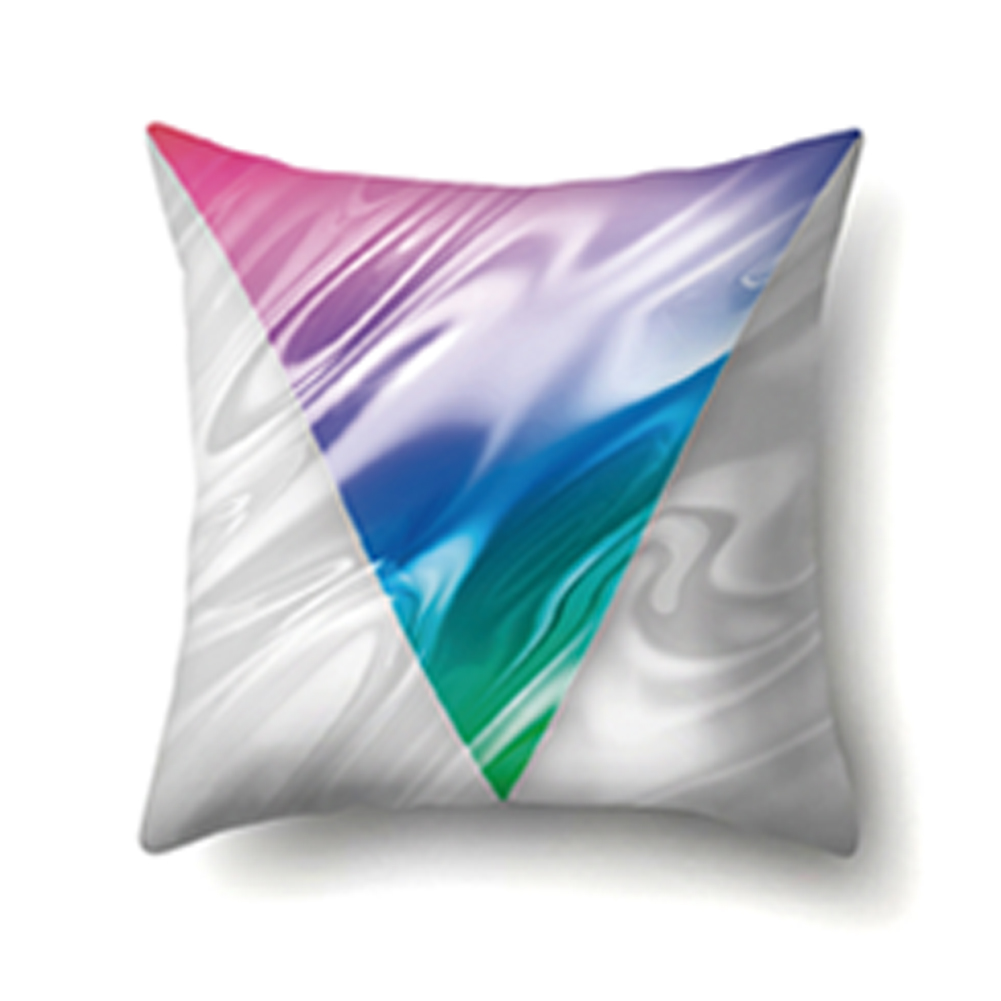 45*45cm Colorful Pillowcase Starry Sky Dazzling Cushion Cover Car Sofa Decor CCA404(9)