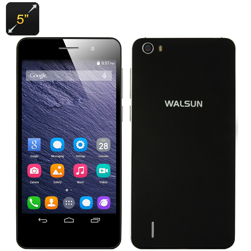 Walsun X6 Android Smartphone (Black)