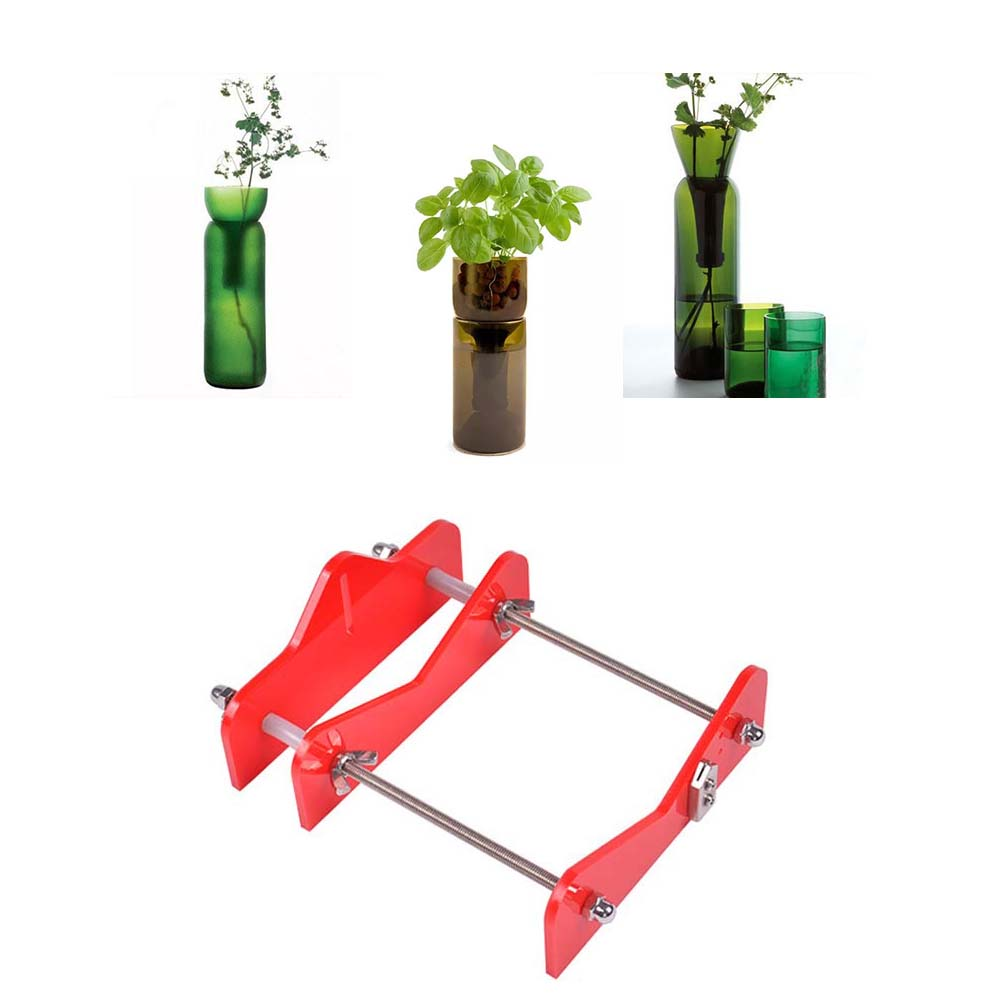 Glass Bottle Cutter Tool Professional for Bottles Cutting Glass Bottle-cutter DIY Cut Tools Machine red