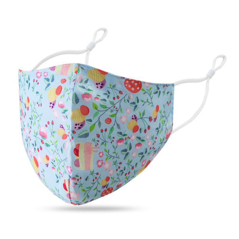 Children Mask Cotton Dustproof Breathable Washable Adjustable Ear Buckle Mask For Boys And Girls 4#_free size