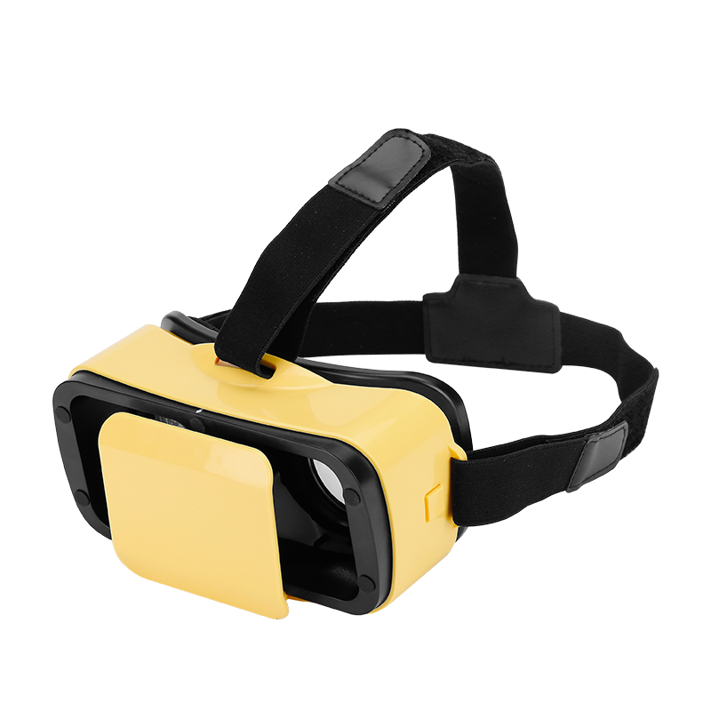 VR 3D Glasses (Yellow)