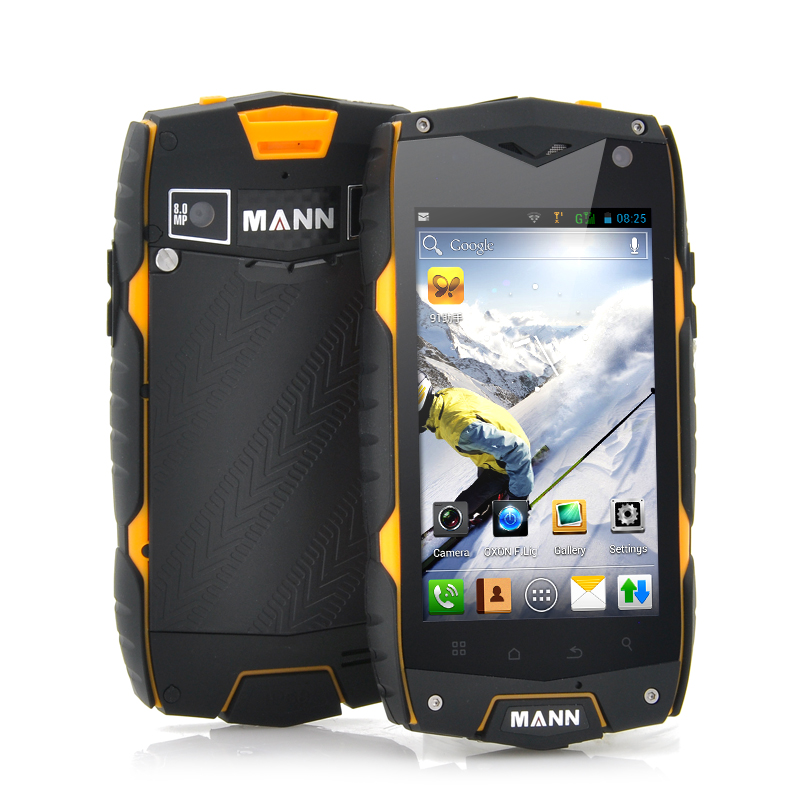 MANN A18 4 Inch Rugged Android Phone (Y)