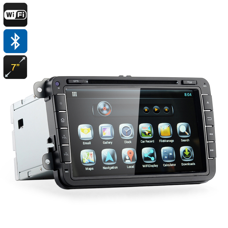 2 DIN Android Car DVD Player 'Road Elite III'