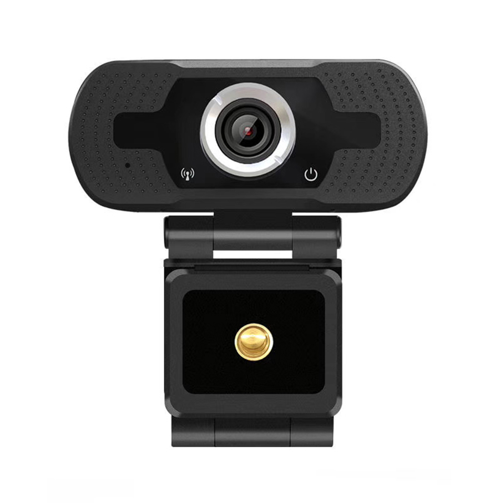 1080P HD Web 3D Camera Live video For Computer With Noise Reduction Microphone black_1080P