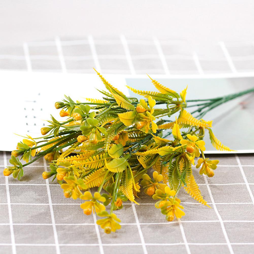 Aglaia Odorata Fruit Artificial Plant Plastic Artificial Flowers Living Room Decoration Arrange Flowers yellow