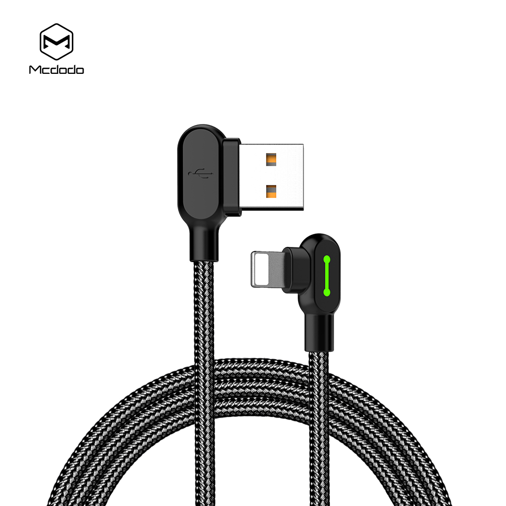 Mcdodo Buttom Series 8 Pin Charging Game Cable black_CA-4670-1.2m