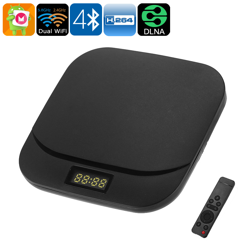 TAP PRO Android TV Box - Android 6 0, 4K Support, Bluetooth