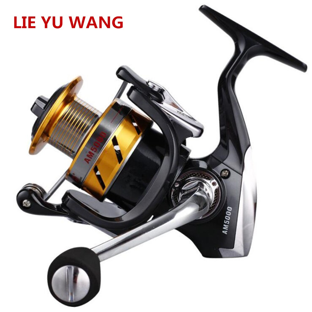 Spinning Reel Professional Fishing Line Wheel Rotation Lure Fishing Wheel AM4000