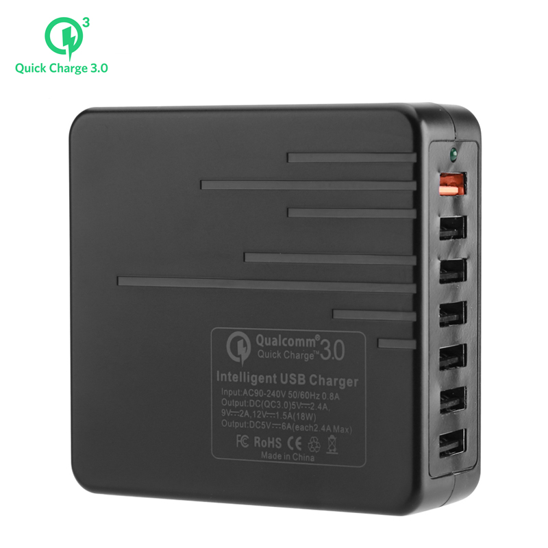 7 Port USB Charger