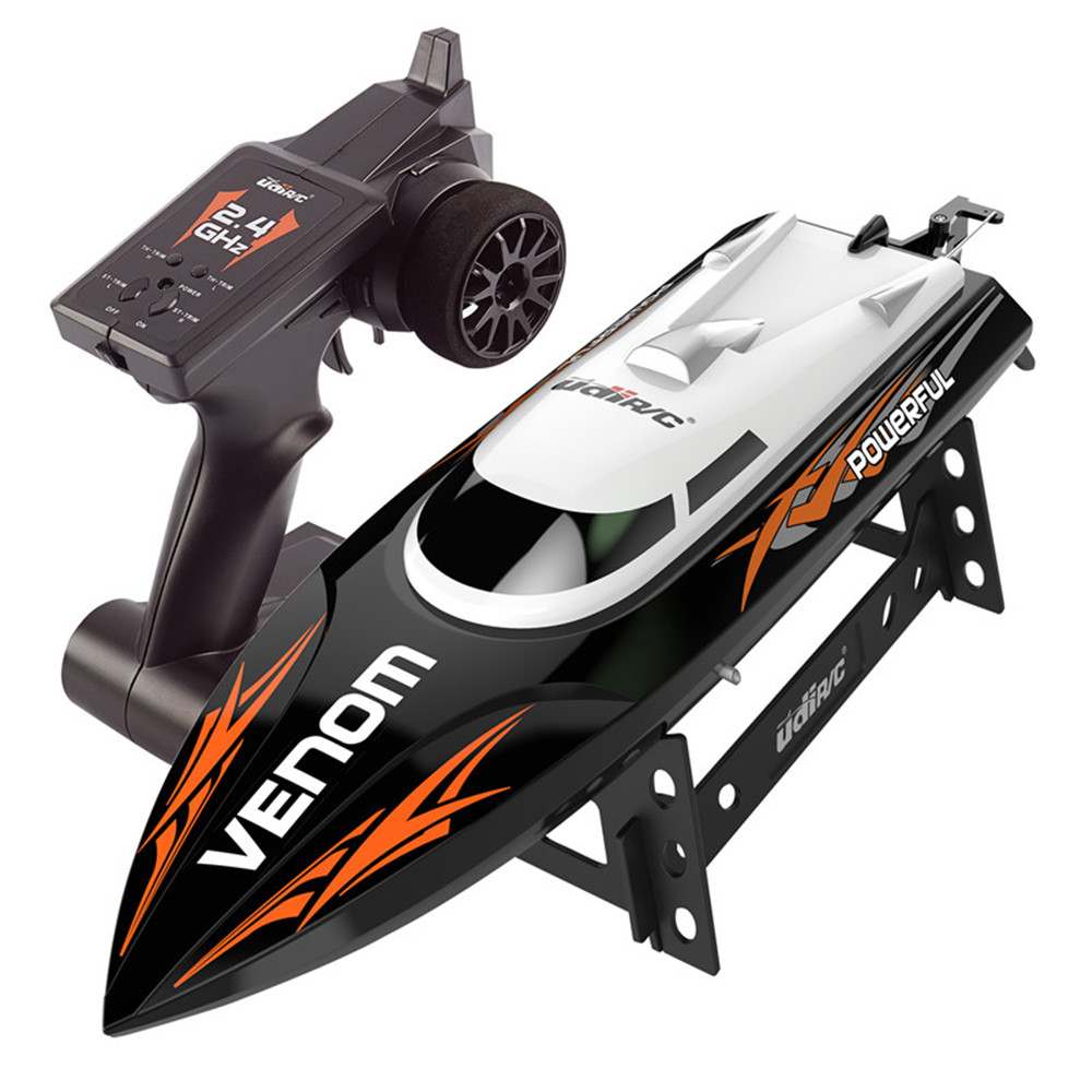 UdiR/C UDI001 33cm 2.4G Rc Boat 20km/h Max Speed with Water Cooling System 150m Remote Distance Toy black