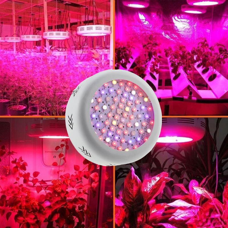 Dual Core 216 Watt LED Plant Growth Lamp Full Spectrum Indoor Fill Light UFO Plant Growth Lamp U.S. regulations