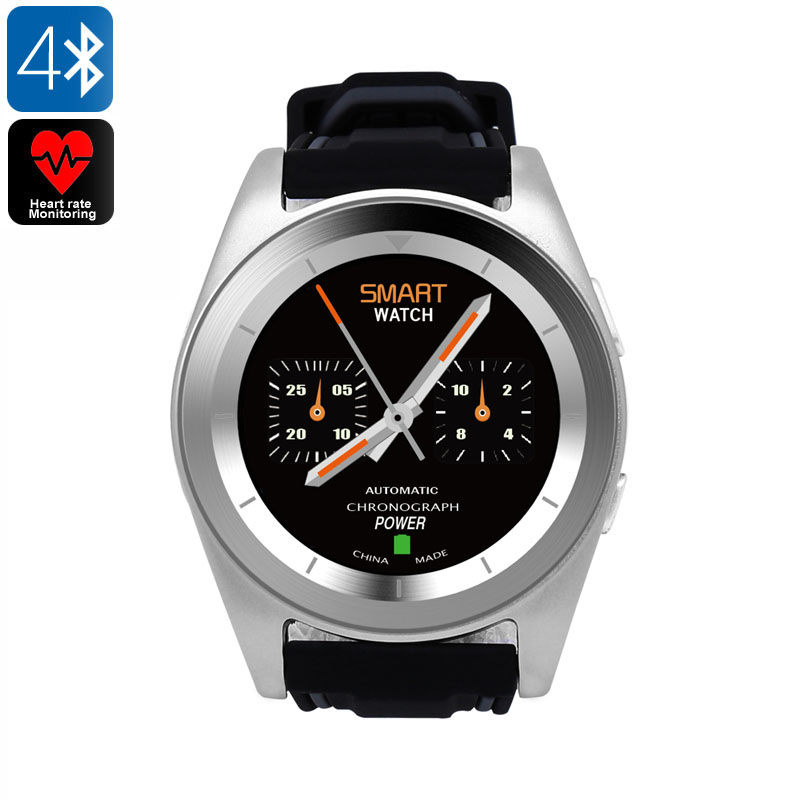 No.1 G6 Sports Watch (TPU Silver)