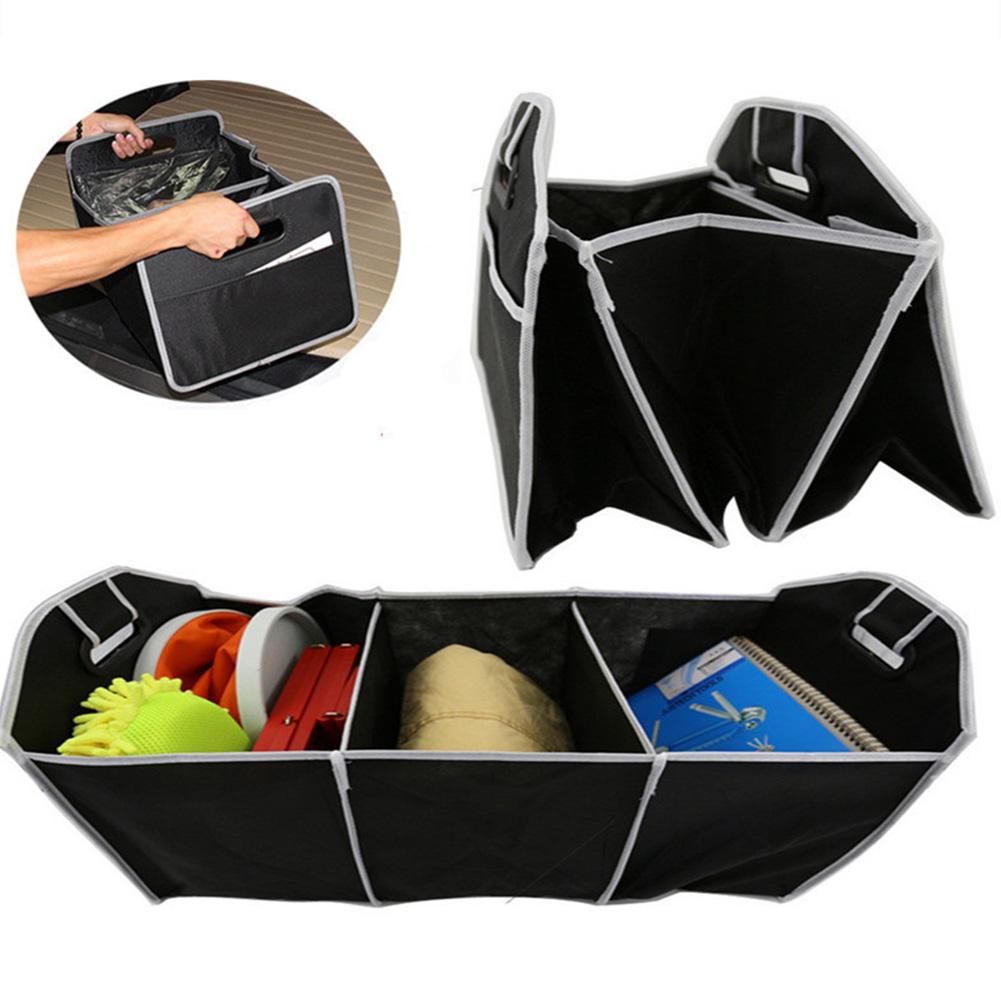 [EU Direct] Foldable Car Trunk Organizer Bag Portable Multi Compartment Truck Van SUV Storage Basket Auto Tools Organiser