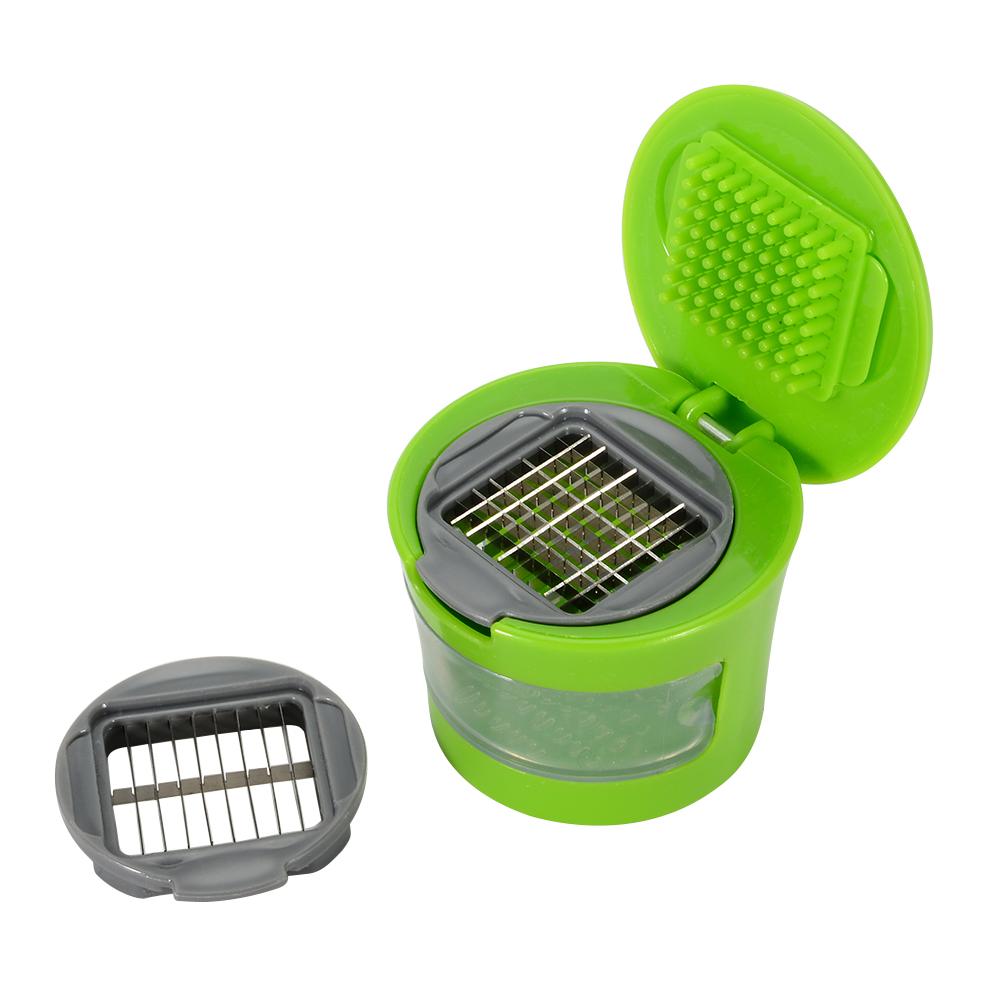 [EU Direct] Mini garlic grinder ginger grater-green