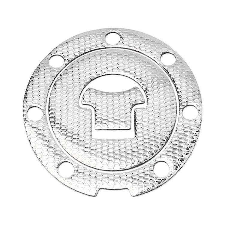 Fuel Tank Cap Decal Pad Sticker Protector for CBR1000RR CBR600 CBR250/400 CBF190R Motorcycle Motorbike  Silver