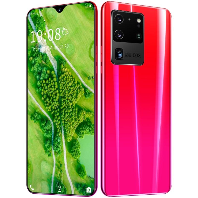 6.26 inch S20U Smartphone RAM1GB+ 8GB ROM Bluetooth 5.0 Android 5.1 HD720*1560 Screen Cellphone red_British plug