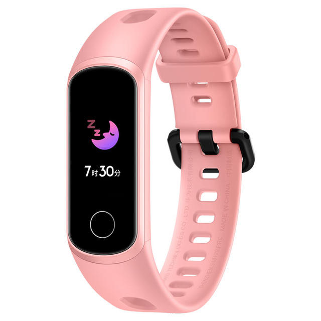 Huawei Honor 5i Pink Smart Bracelet Multifunctional Life Waterproof Activity Tracker Wristwatch Pink