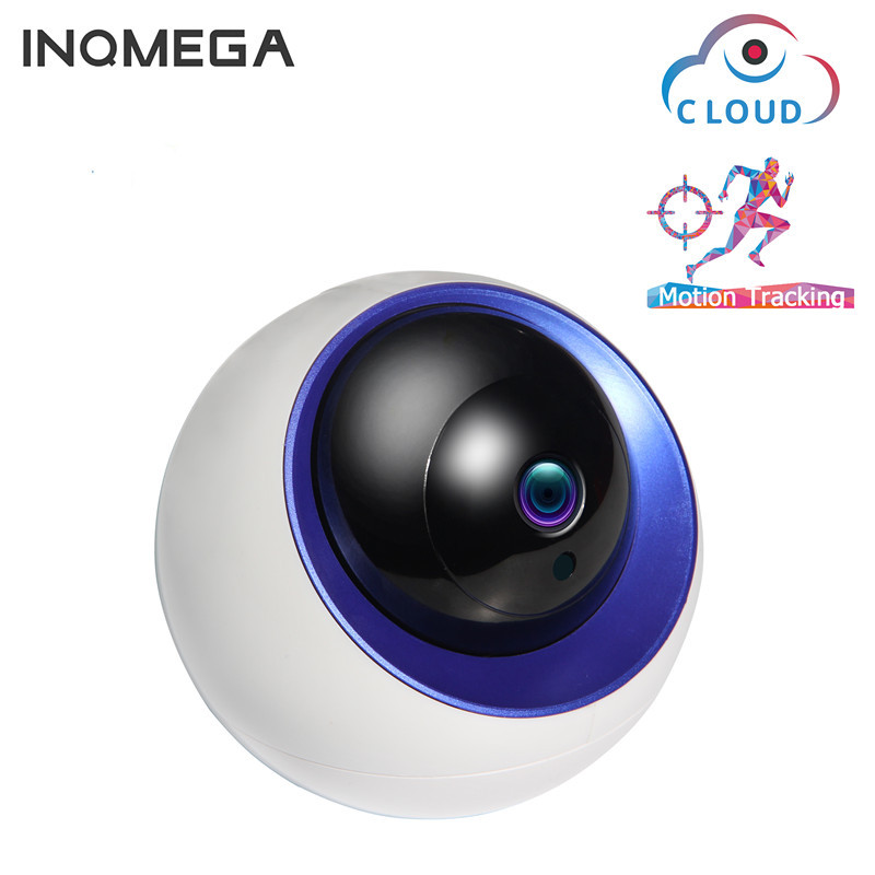 ABS Camera Wireless Space Ball WiFi Network Remote Monitoring Camera HD Night Vision Rotating Home Security 4MP HD pixels