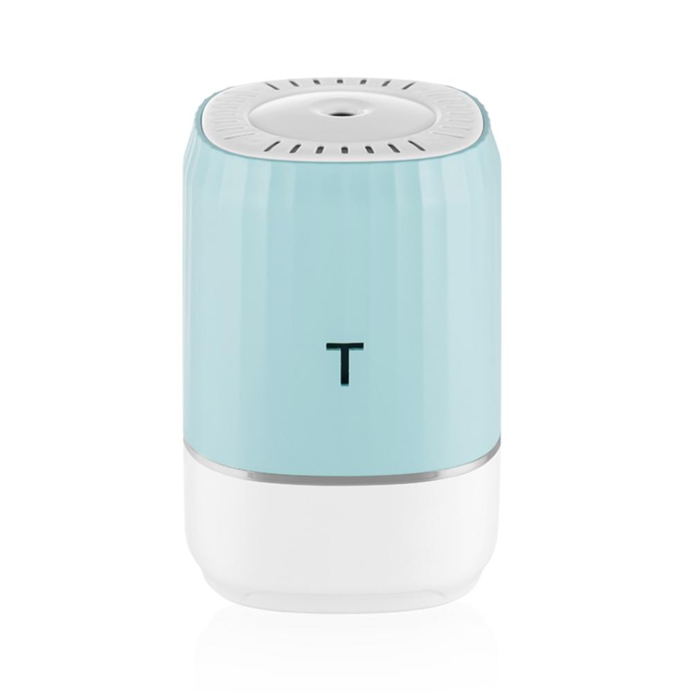 Humidifier Ultrasonic Mini Diffusers Car Air Purifier Aroma USB Mist Fogger for Home Car blue
