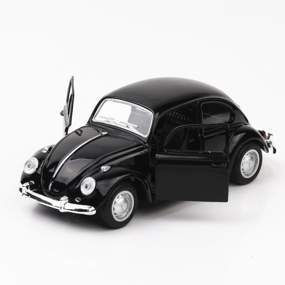 1:24 Alloy Simulation Car Off-road Vehicle with Light Sound Doors Open Delicate Collection black