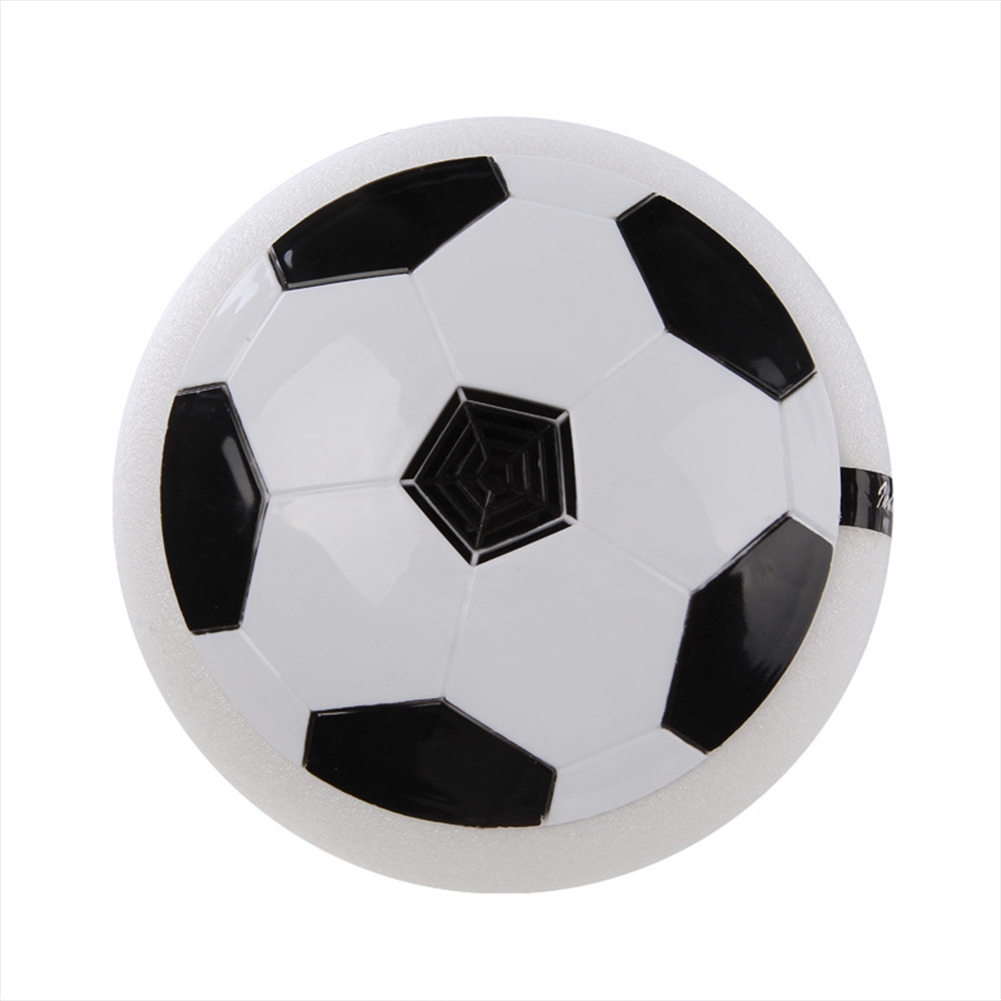 Led Hover Soccer Ball Air Power Training Ball Playing Football Game Soccer White