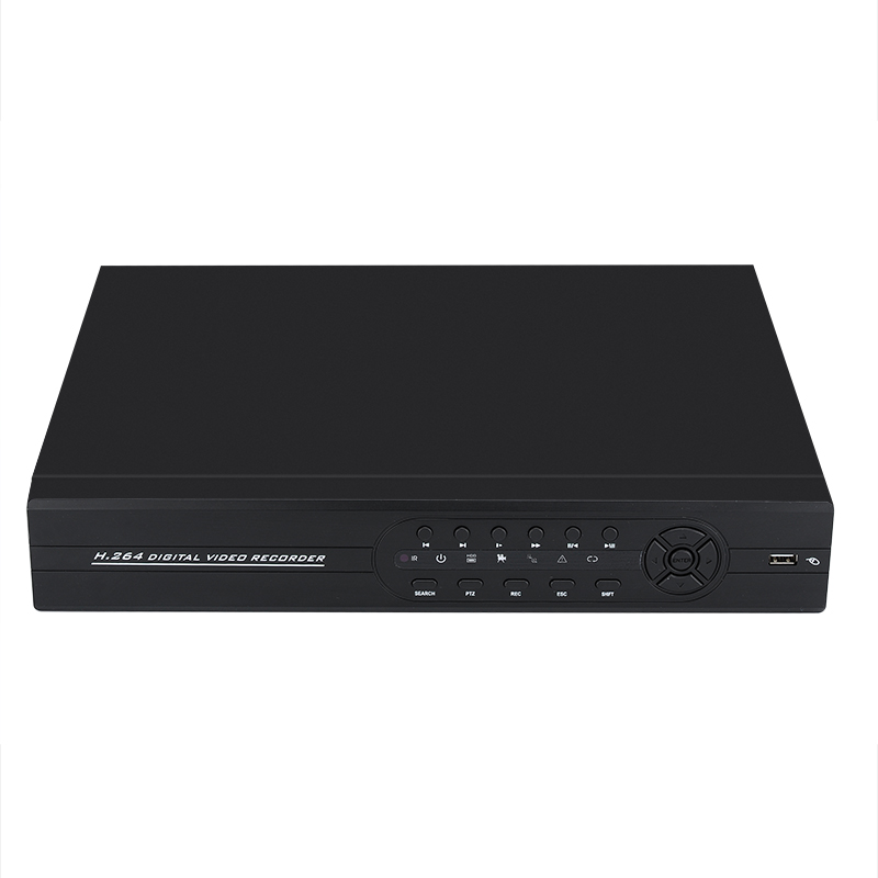 Hybrid 24 Channel DVR + NVR Security System