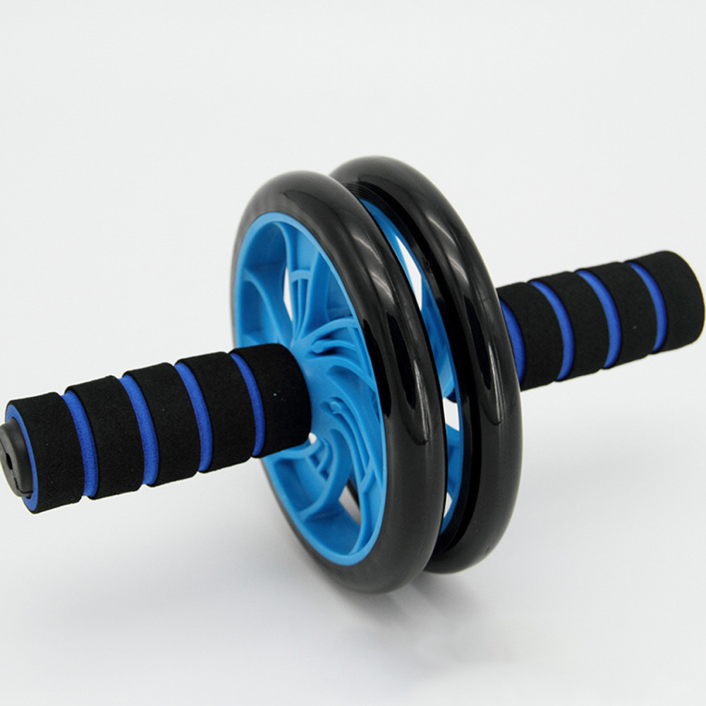 Ab Wheel Roller Abdominal Exercise Core Abs Trainer Cruncher For Home Strength Gym Fitness Workout Training Equipment