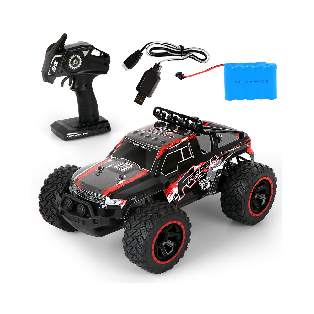MGRC Climbing Electric Remote Control Car 1:14 Off-road High Speed Racing Toy High-speed off-road racing (red) MG31
