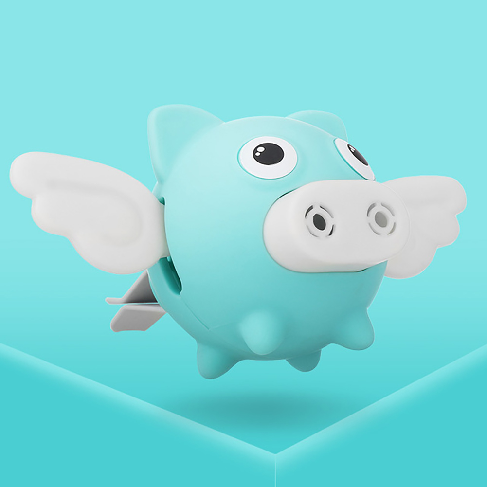 Flying Pig Car Air Outlet Perfume Air Freshener Auto Interior Scent Diffuser Aromatherapy Decor Car Accessory Beige