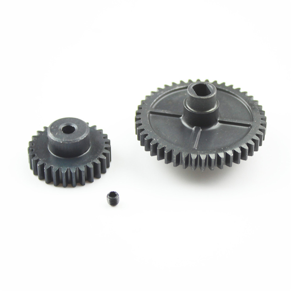 Upgrade Metal Reduction Gear Motor Gear For Wltoys 144001 1/14 RC Car Parts default