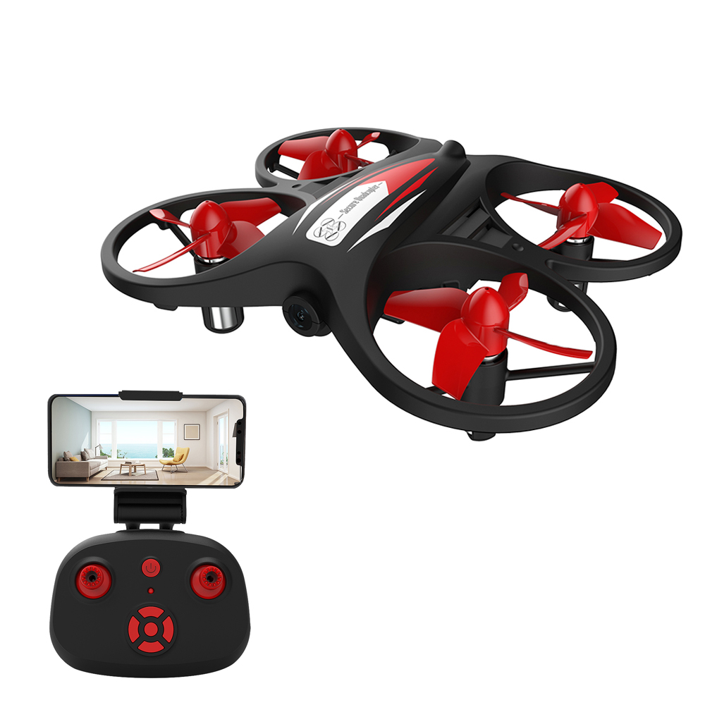 KF608 RC Drone for Beginner Mini RC Drone Quadcopter Altitude Holding Headless Mode 3D Rolling Speed Switch 2 battery
